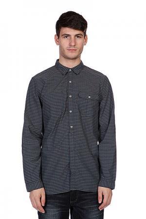 Рубашка в клетку  Smal Check Grey Converse. Цвет: серый,черный