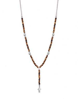 Ожерелье JACK&CO. Цвет: коричневый