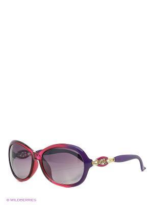 Солнцезащитные очки Vittorio Richi. Цвет: фиолетовый, малиновый