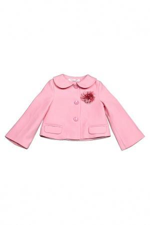 Пальто Vitacci. Цвет: розовый