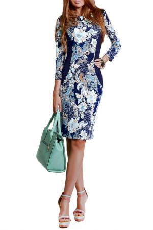 Платье FRANCESCA LUCINI. Цвет: маракай мята