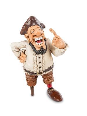 Фигурка Пират Одноногий Кортес The Comical World of Stratford. Цвет: бежевый, коричневый