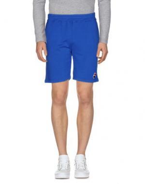 Повседневные шорты BULK. Цвет: синий