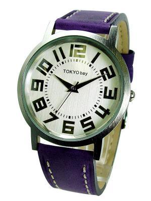 Часы TOKYObay. Цвет: сиреневый