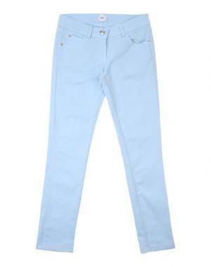 Повседневные брюки PARROT. Цвет: небесно-голубой