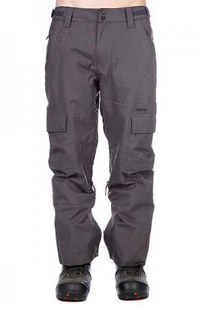 Штаны сноубордические  Snow Pant Limmer Men Dark Grey Zimtstern. Цвет: серый