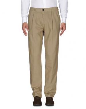 Повседневные брюки REDS. Цвет: бежевый