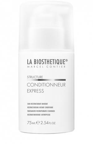 Реконструирующий бальзам для волос мгновенного действия La Biosthetique. Цвет: бесцветный
