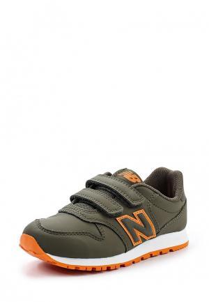 Кроссовки New Balance. Цвет: зеленый