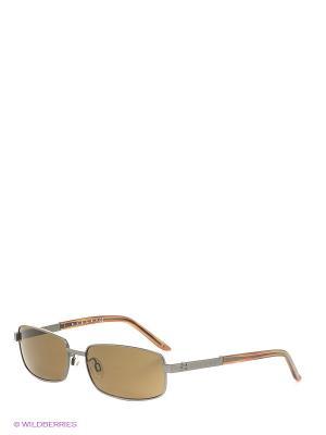 Солнцезащитные очки SY 575 02 Sisley. Цвет: коричневый