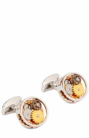 Запонки Tateossian. Цвет: золотой