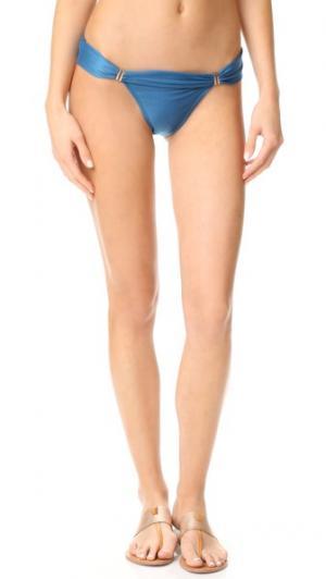 Плавки бикини Imperial Bia ViX Swimwear. Цвет: бирюзовый