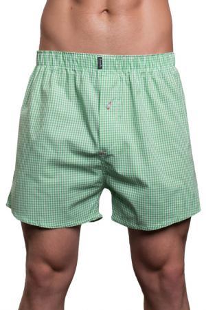 Трусы-шорты Salvador Dali. Цвет: зеленый