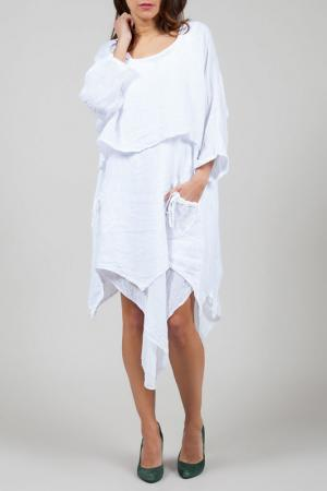 Платье La Belle Helene. Цвет: белый