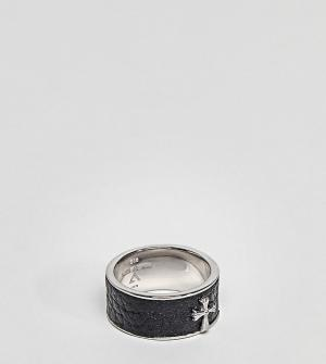 Seven London Серебряное кольцо. Цвет: серебряный