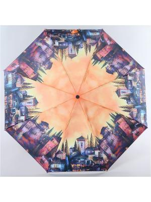Зонт Zest. Цвет: коричневый, горчичный, темно-бежевый