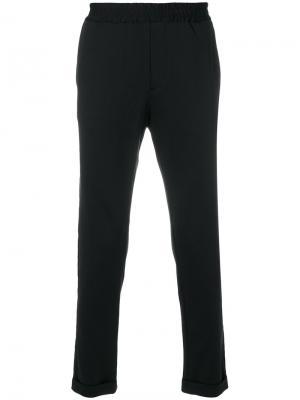 Спортивные брюки Hydrogen. Цвет: чёрный