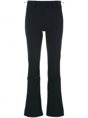 Расклешенные брюки Ancelle Perfect Moment. Цвет: чёрный