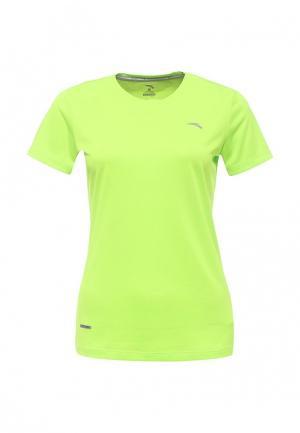 Футболка спортивная Anta. Цвет: зеленый