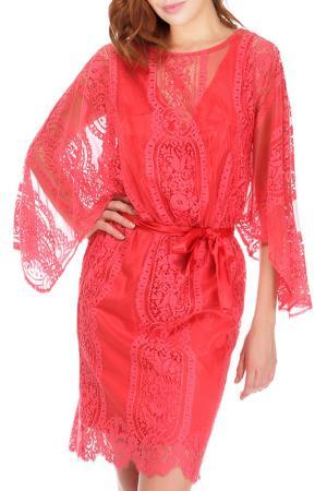 Платье Faust. Цвет: coral