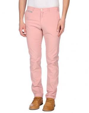 Повседневные брюки MANUEL RITZ WHITE. Цвет: телесный