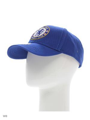 Бейсболка Chelsea Atributika & Club. Цвет: синий