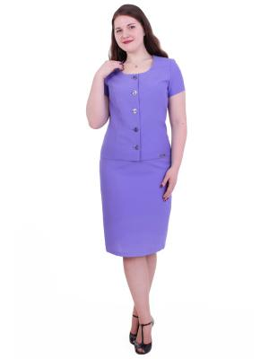 Жакет Regina Style. Цвет: фиолетовый