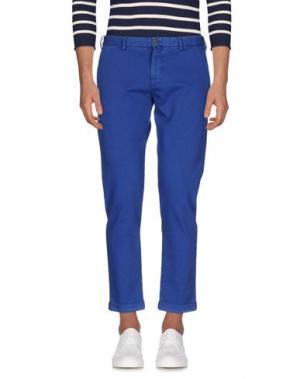 Джинсовые брюки VERDERA. Цвет: ярко-синий
