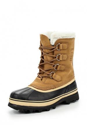 Ботинки Sorel. Цвет: коричневый