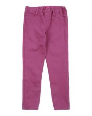 Джинсовые брюки TWIN-SET Simona Barbieri. Цвет: фиолетовый