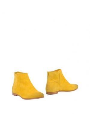 Полусапоги и высокие ботинки SMITH'S AMERICAN. Цвет: желтый