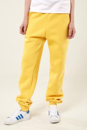 Трикотажные штаны Lava. Цвет: желтый