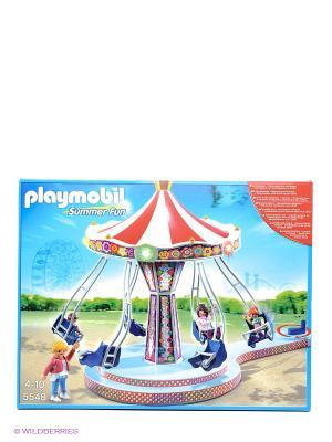Аттракцион Карусель Playmobil. Цвет: голубой