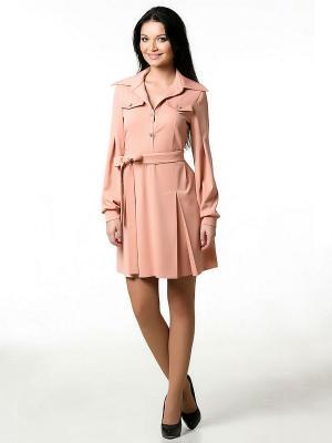 Платье Spicery. Цвет: персиковый