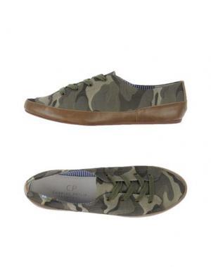 Низкие кеды и кроссовки CHARLES PHILIP. Цвет: зеленый-милитари