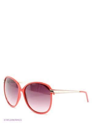 Солнцезащитные очки GF Ferre. Цвет: коричневый, красный