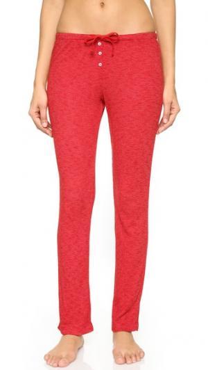 Пижамные брюки Billy Love+Grace. Цвет: веселый красный