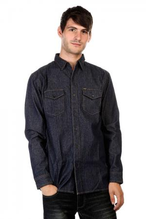 Рубашка  Marfa Denim Shirt Indigo Huf