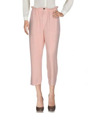 Повседневные брюки VANESSA BRUNO ATHE'. Цвет: розовый