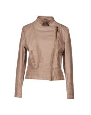 Куртка YES ZEE BY ESSENZA. Цвет: пастельно-розовый