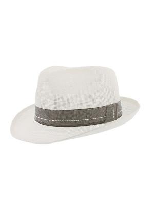 Шляпа R.Mountain. Цвет: белый, серый