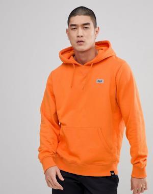 Dickies Худи оранжевого цвета со светоотражающим логотипом Progresso. Цвет: оранжевый