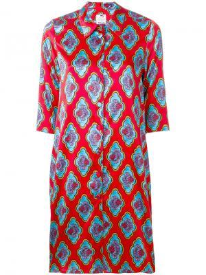 Floral print dress Ultràchic. Цвет: красный