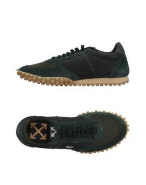 Низкие кеды и кроссовки OFF-WHITE™. Цвет: темно-зеленый