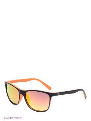 Солнцезащитные очки Legna. Цвет: темно-синий, оранжевый