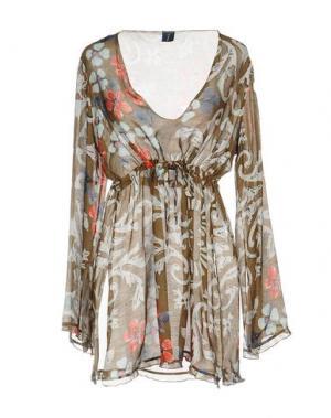 Блузка MOSAIQUE. Цвет: темно-коричневый