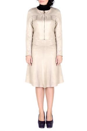 Куртка JUNONA. Цвет: beige