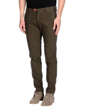 Повседневные брюки BARONIO. Цвет: темно-зеленый