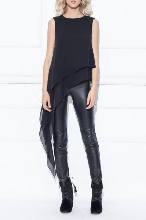 Блуза Nissa. Цвет: черный