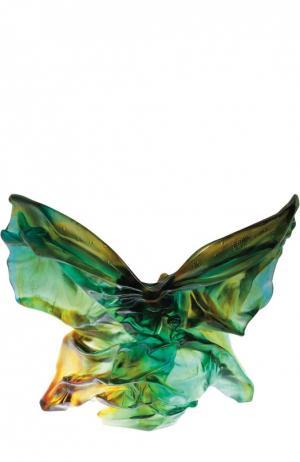Ваза для цветов Papillon Butterfly Soliflore Daum. Цвет: бесцветный